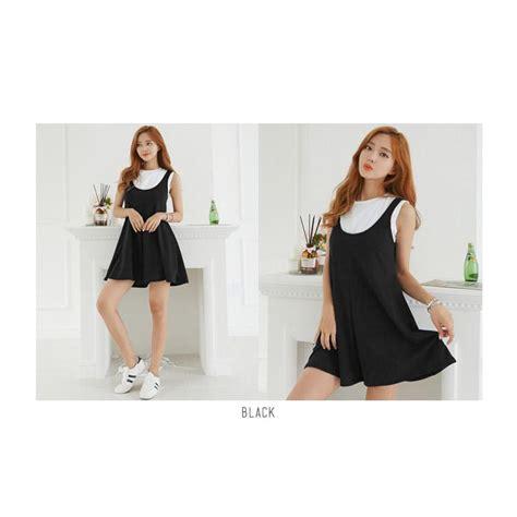 cuci gudang korean style your jumpsuit soft spandex baju atasan wanita