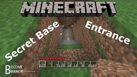 how to build a base minecraft secret entrance www pixshark com images