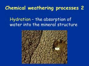 hydration geology hydration weathering