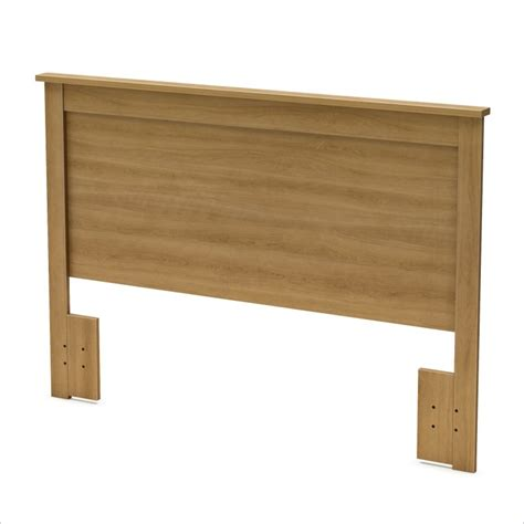 South Shore Breakwater Full Queen Harvest Maple Headboard