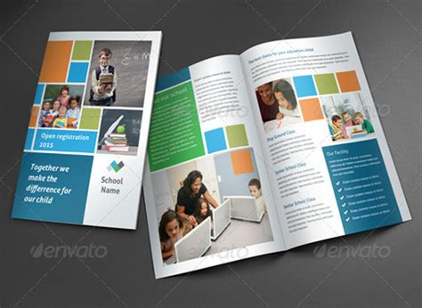 photoshop template brochure school brochure 22 in psd vector pdf
