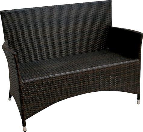 new settees rattan outdoor settee wicker aluminum furniture