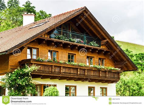 17 small traditional house design in tirol austria wonderful alpine classic house stock photo image 45274478