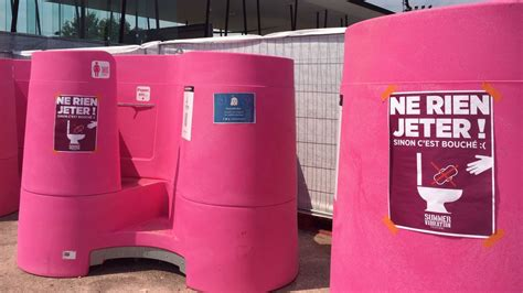 womens urinals  arrived  occitanie languedoc living
