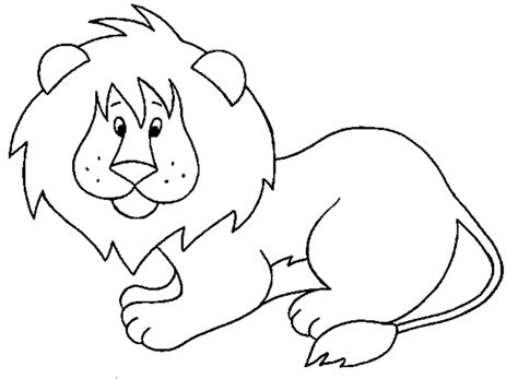 free coloring pages of lion head