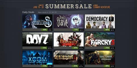 steam new year sale 2015 steam summer sale 2014 discounts on great pc bgr
