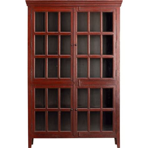 Rojo Cabinet rojo cabinet in storage cabinets crate and barrel