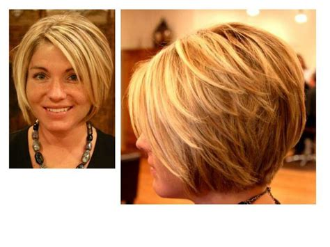 how to cut hair so it stacks a line bob i like the stack in the back hairstyles
