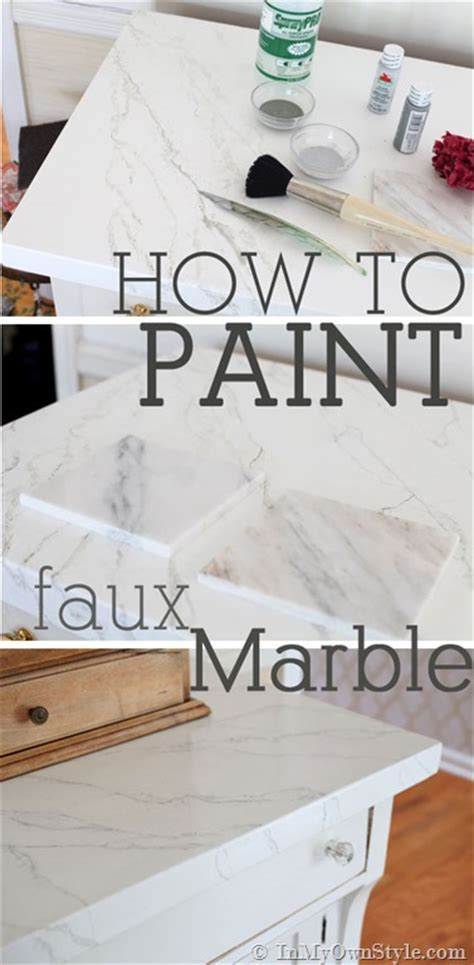 how to faux paint furniture faux carrara marble painting technique fo makeover