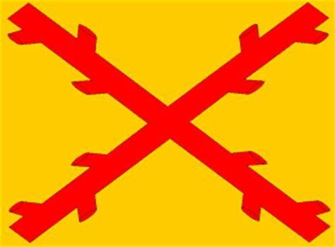 flag pavia burgundy cross flag 1506 1785 spain