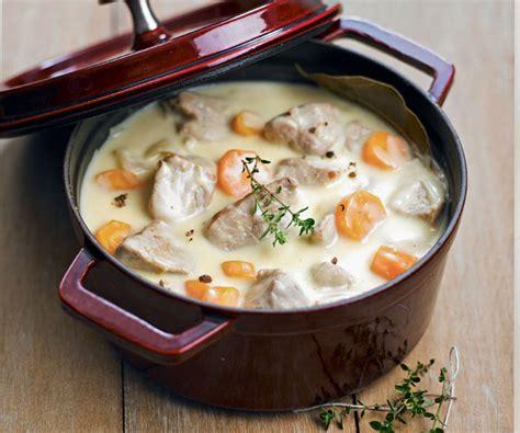 recette de cuisine blanquette de veau recipe veal blanquette