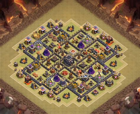th9 base with war bomb tower 2016 top 5 coc th9 war base with bomb tower 2016 cocbases