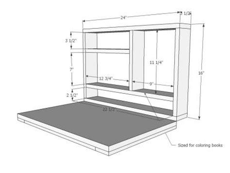 fold down desk hinges diy friday 6 fantastic space saving fold down desks