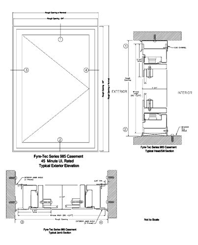 Awning Window Detail by Aluminum Frame Window Cad Details Www Tapdance Org