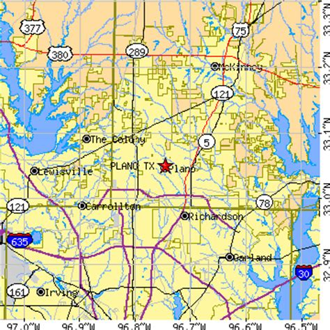 map of plano texas and surrounding areas plano texas tx population data races housing economy