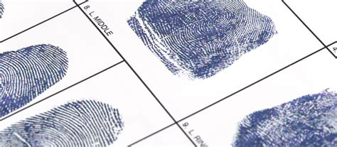 Background Check Fingerprint Fingerprint Background Checks Not As Reliable As You