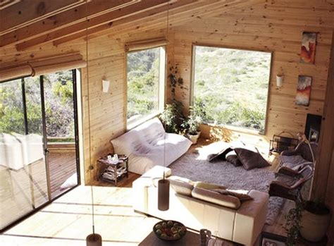wooden house interior creative contemporary all wood hillside home design