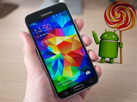 Galaxy 5 android lollipop 5.0 release date