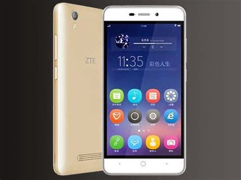 zte mobile official website zte q519t with android 5 0 4000mah battery launched in china