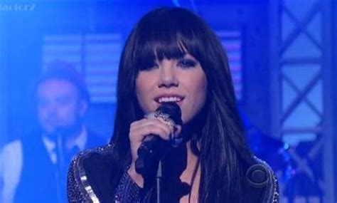 carly rae jepsen canadian idol carly rae jepsen this kiss late show with david