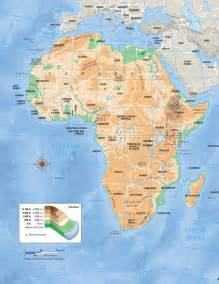 elevation map of africa size