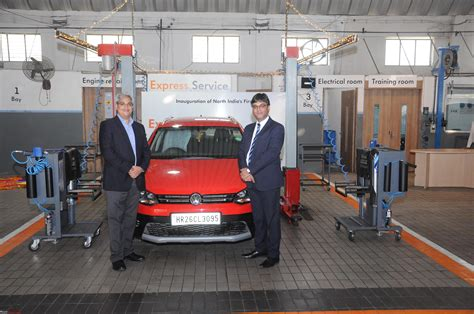 volkswagen launches its express service facility