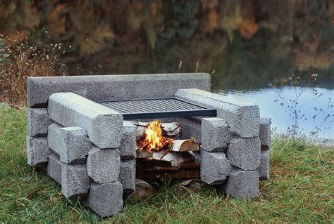 the mini pit precast outdoor fireplaces