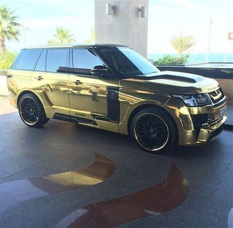 gold chrome range rover 159 best images about range rover on pinterest cars