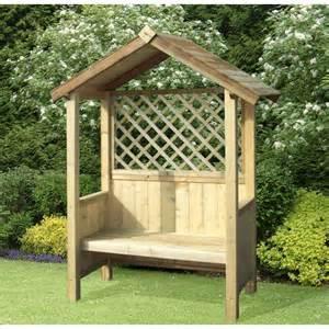 Rose Trellis Plans storemore artemis arbour fixed solid seat fsc timber