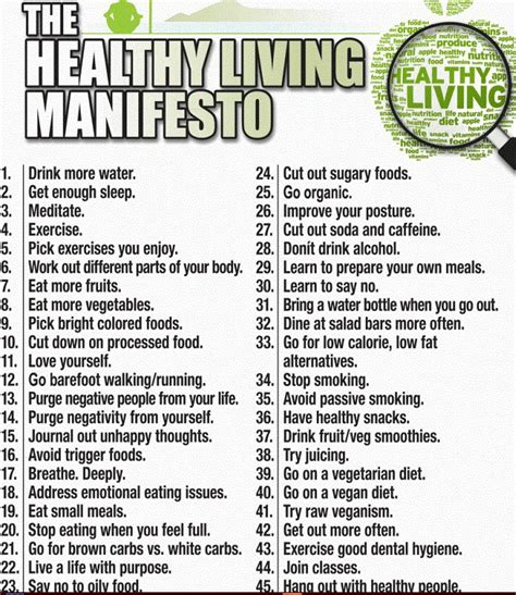 7 Tips On Living A Healthy Lifestyle by Nursing Vacancy Health Tips The Healthy Living
