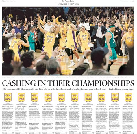 Los Angeles Times Sports Section by Best Of Sports Design 2013 Special Section Inside Pages