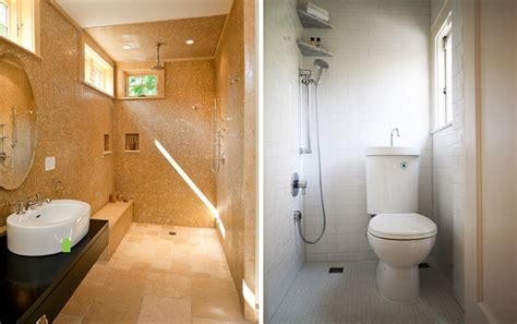 small bathroom open shower the benefits of walk in showers no doors installations