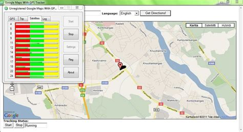 gps maps maps with gps tracker v43 0 afterdawn software downloads