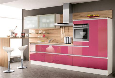 imagenes de muebles de cosina de colores modernos