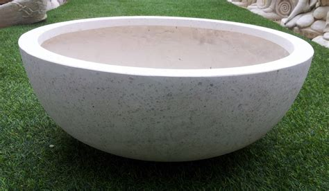 wok bowl planter garden ideas photograph fibreglass plante