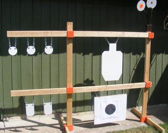 diy steel target stand gong stand etsy