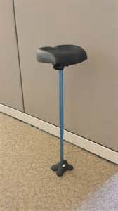 standing desk knee leaning stool human kickstand wobble chair