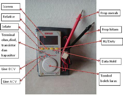 Multimeter Digital Dan Analog isea elektrik fungsi multimeter analog dan digital