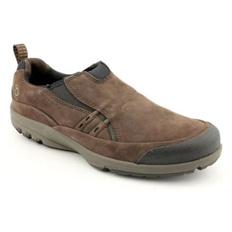 shop rockport s st cruzer slip on nubuck casual shoes wide size 10 5 free shipping