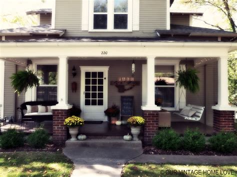 home porch our vintage home love fall porch ideas
