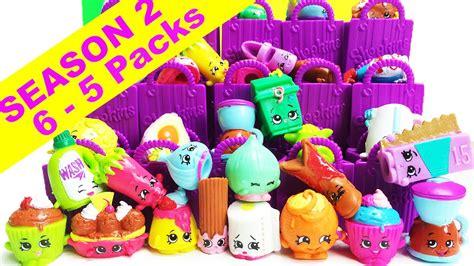 Shopkins Original Session 5 B blister 5 shopkins 1 shopkin sorpresa con canastita