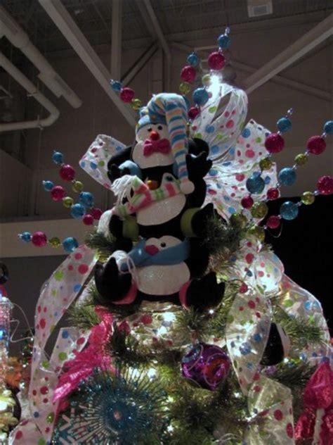 penguin angel tree topper tree topper inspiration from the akron tree festival part 2 vicki o dell