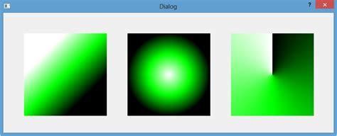 qt linear layout qt5 tutorial qlinear qradial and qconical qgradients 2018