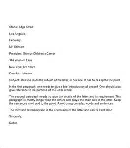 Business Letter Spacing Formal Business Letter Format 19 Free