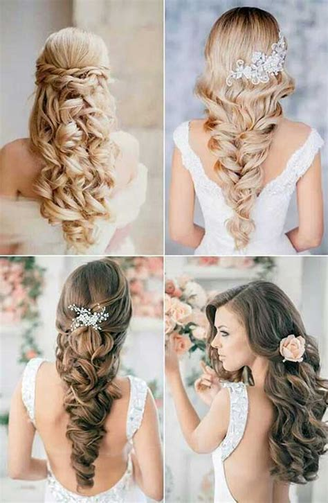 bridal hairstyles pictures for long hair 30 curly wedding hairstyles long hairstyles 2016 2017