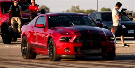 1000 Hp Shelby Gt500 by 1000hp Shelby Cobra Mustang Gt500 Hits 217 Mph Cars