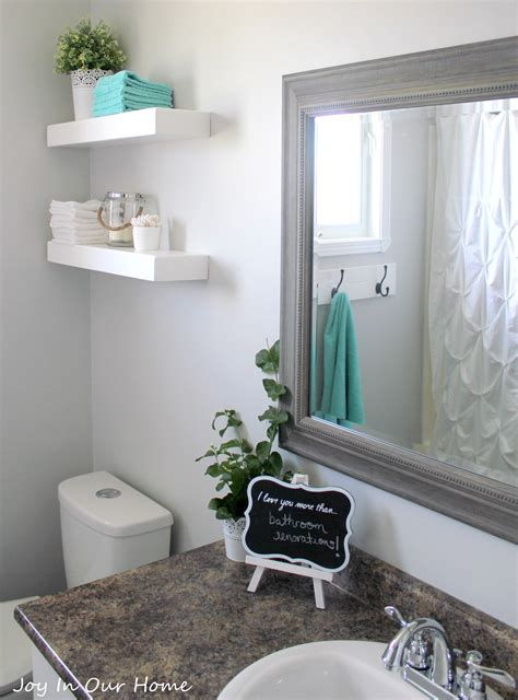 our bathroom makeover product source in our home