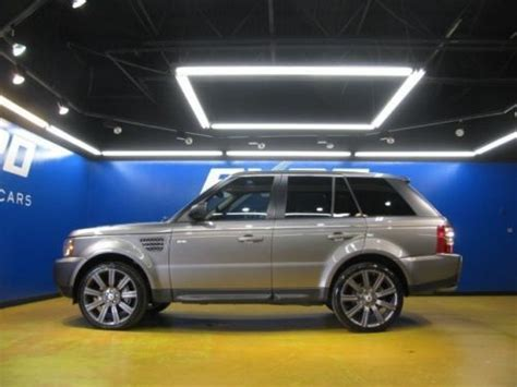 burgundy range rover black rims find used land rover range rover sport supercharged awd 22