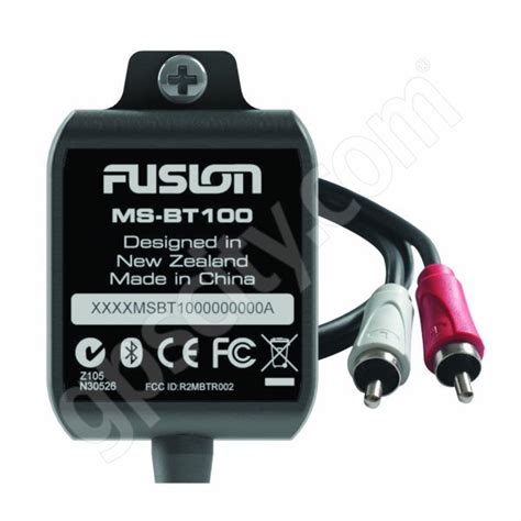 fusion boat radio bluetooth fusion ms bt100 bluetooth dongle for fusion marine stereo