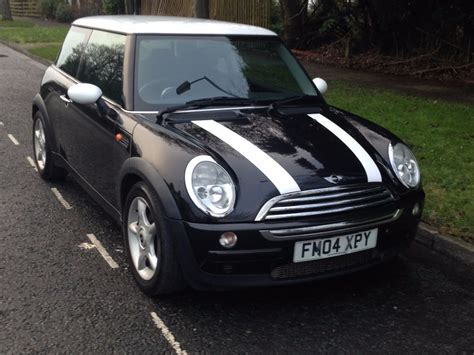 mini cooper black 2004 for sale in bradford west
